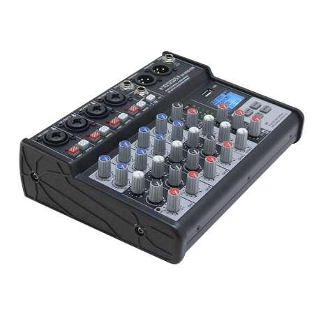 Mixage definitive audio MX6 USB 5 canaux lecteur enregistreur USB