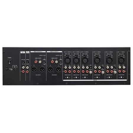 Mixeur rackable 6 entrées MIC/LINE sur 2 sorties + SUB MZ-372 Tascam