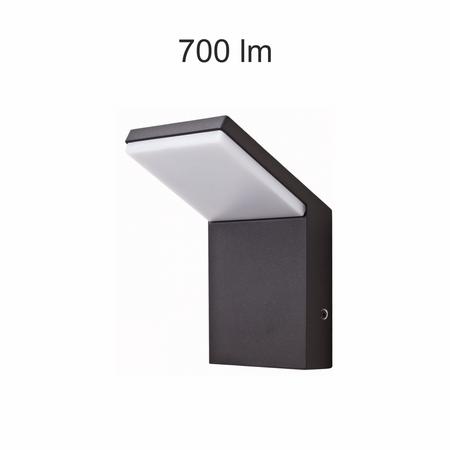 Eclairage extérieur LED IP65 9W 4000K 120° chassis noir NEO Beneito Faure