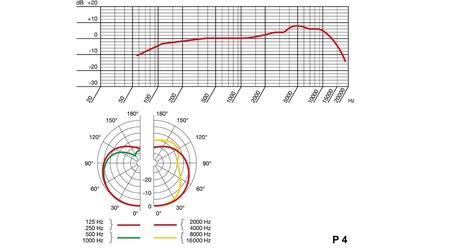 Micro cardioïde dynamique AKG P4 LIVE pour instrument