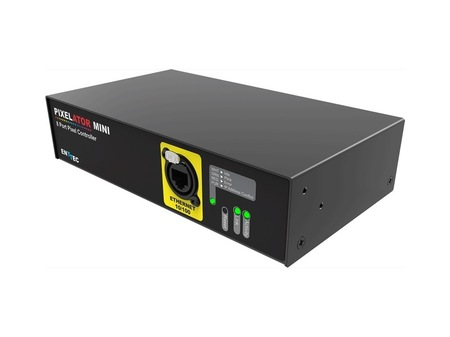Pixelator Mini Enttec driver ARTnet sACN vers SPI 16 univers 2720 pixels