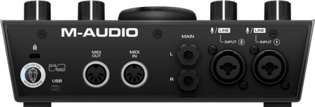 Carte son M-Audio AIR 192X6 2 entrées 2 sorties 24 bits 192 kHz