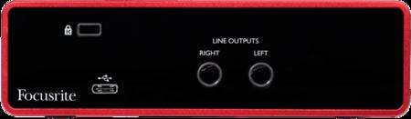 Focusrite Scarlett3 Solo interface audio USB-C 2 entrées 2 sorties