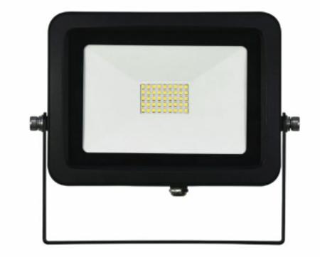Projecteur Led étanche noir Beneito et faure SKY 40W blanc neutre 5000K 3700 lumens