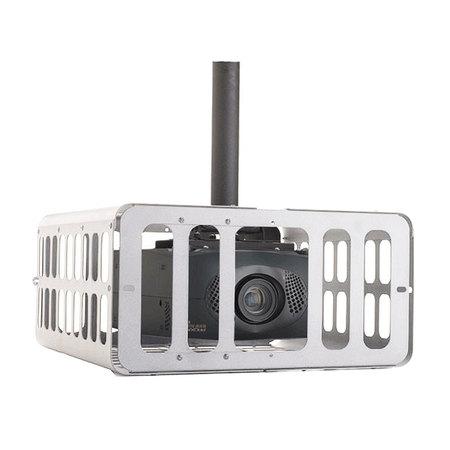 Cage de suspension et protection vidéoprojecteur dimensions max 639 X 288 X 645 blanche
