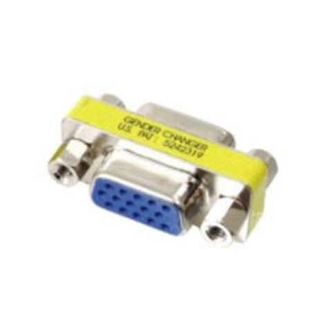 Adaptateur SUBD15 HD femelle femelle pour VGA