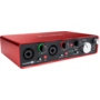 carte son FocusRite Scarlett 2i4 snd generation 2in 4 out